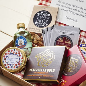 Best Of British Letter Box Hamper With Gin - personalised