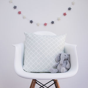 Trellis Cushion Cover And Feather Pad - new in home