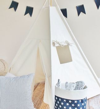 Natural Play Tent Teepee