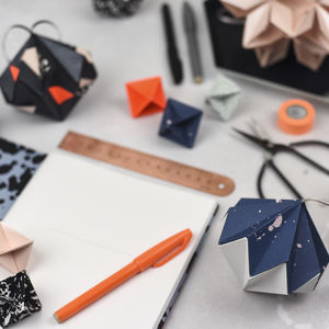Origami Ornament Workshop - origami