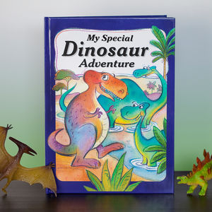 Dinosaur Adventure Personalised Book