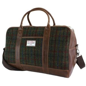 Harris Tweed Holdall - holdalls & weekend bags