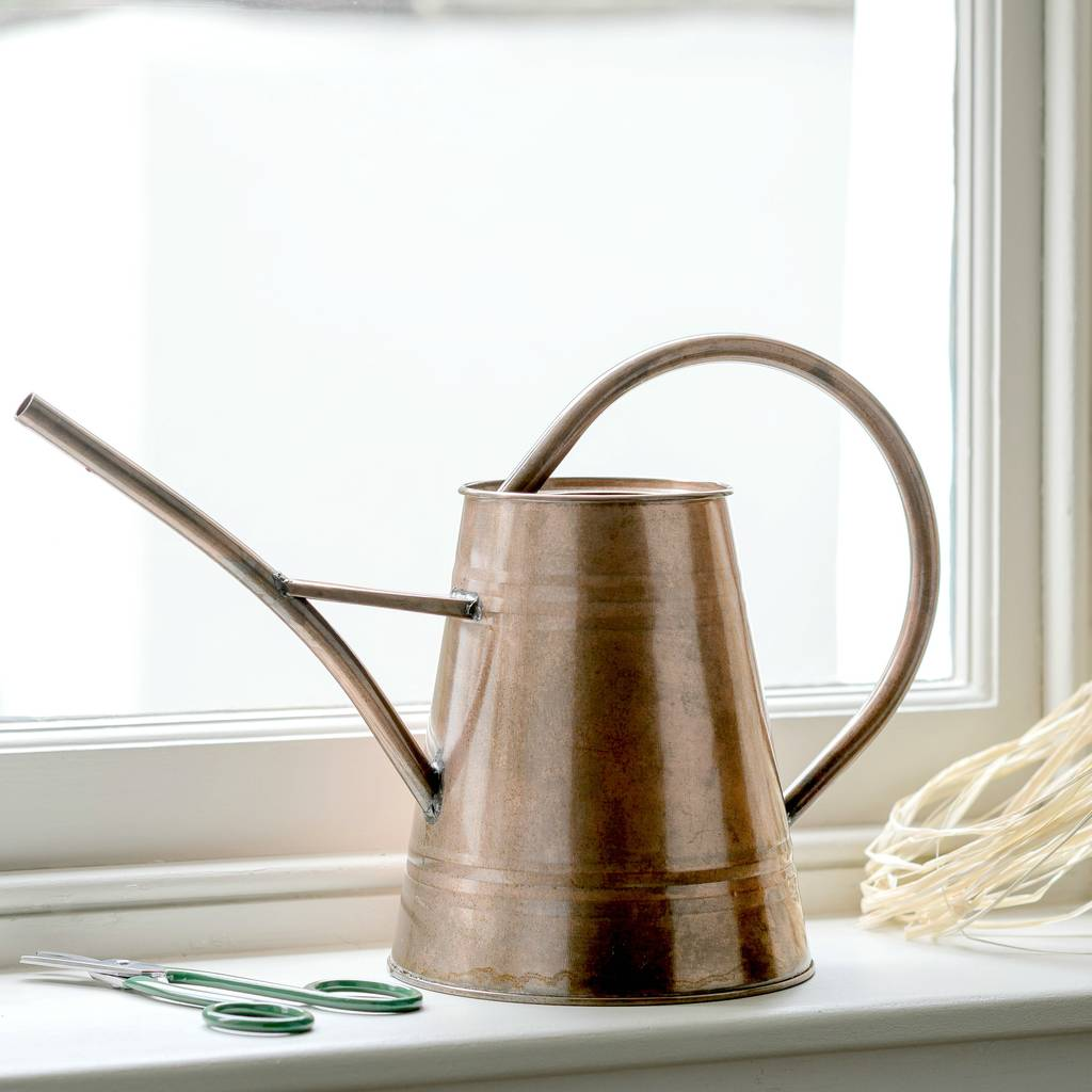 Danish Style Copper Watering Can