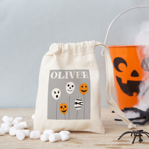 Halloween Balloons Trick Or Treat Bag With Sweet Option - girls' bags & purses