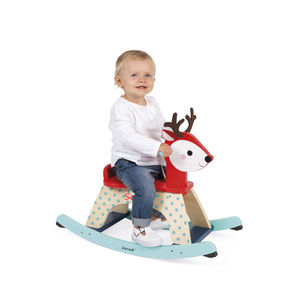 Personalised Rocking Fawn - rocking toys