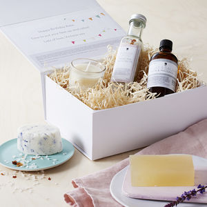 Create Your Own Birthday Personalised Organic Gift Box - bath & body