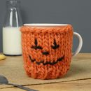 Pumpkin Knitted Mug And Cosy