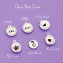 Choose mini charm