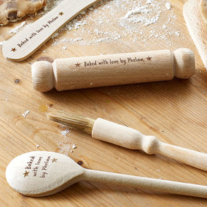 Personalised Kids Baking Set - baking