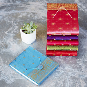Handmade Small Sari Photo Album
