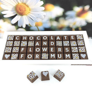 Chocolates And Flowers For Mum Mothers Day Gift