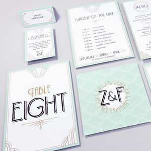 Table Plan, Numbers, Place Cards, Menus : Long Island - place cards