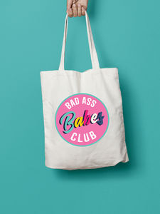 Bad Ass Babes Club Tote Bag