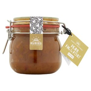 Rubies In The Rubble Pear Fig And Port Chutney Kilner