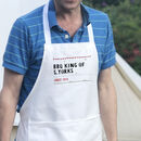 Personalised Street Sign Apron