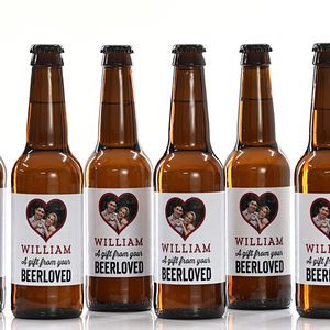 18 Personalised Birthday Beers