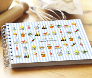 Personalised Dad's Recipe Journal
