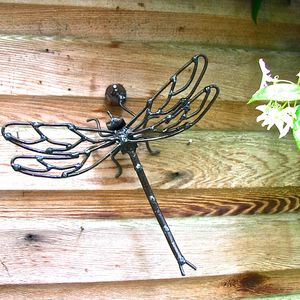 Garden Dragonfly Garden Sculpture - art & decorations
