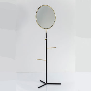 Standing Mirror Coat Rack