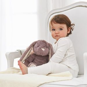 Bunny And Blanket Newborn Gift Set - soft toys & dolls