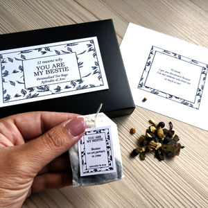 You Are My Bestie Personalised Tea - tea & infusions