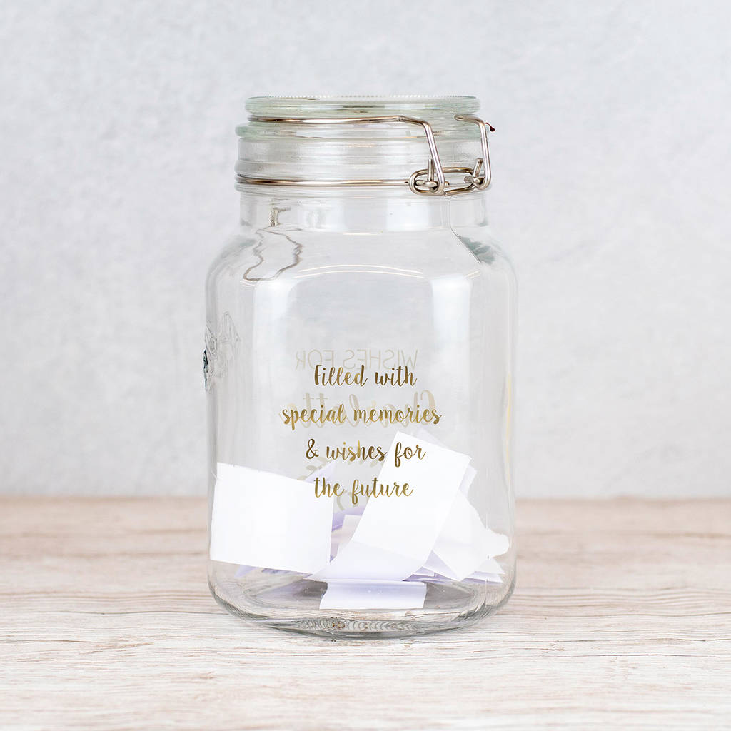 Personalised Birthday Wish Jar By Jonny S Sister Notonthehighstreet Com