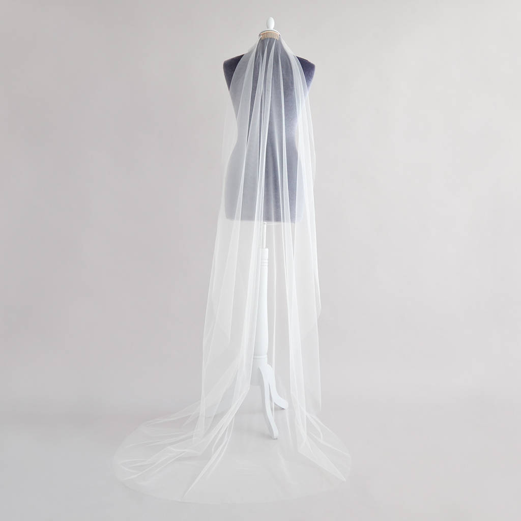 6aad696594fce Barely There Wedding Veil