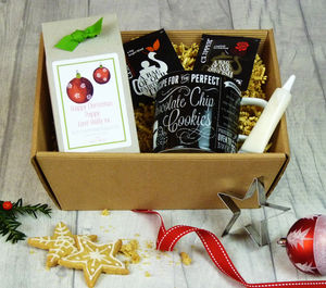 Christmas Diy Tea And Biscuits Baking Set - make your own kits
