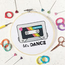 Let's Dance Embroidery Craft Kit