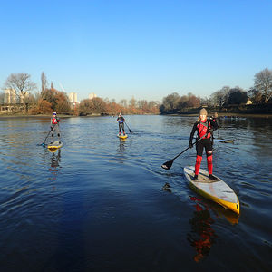 Master Paddle Boarding Through London For Two - dance music & sport experiences