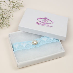 Simply 'Love' Bridal Garter