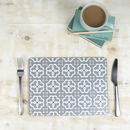 Ines Placemat, Grey Geometric Tablemat