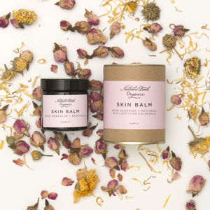 Rose Geranium And Patchouli Skin Balm - skin care