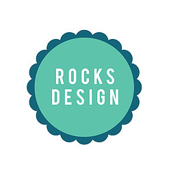 Rocks Design Logo