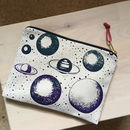 Planet Printed Pouch