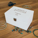 Personalised Shine Bright Jewellery Box
