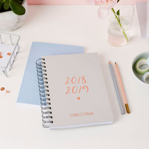 Script Mid Year Or Academic Diary - 2018/2019 calendars & planners