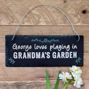 Personalised Engraved Slate Sign