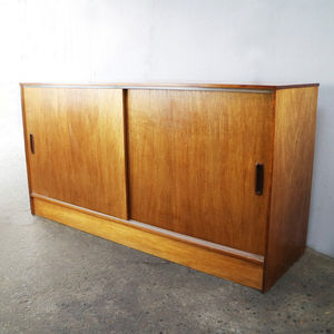 1970's Mid Century English Credenza / Sideboard - dressers & sideboards