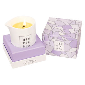 Relaxing Massage Oil Candle