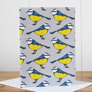 Matching Blue Tit Notecard