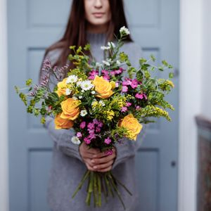 Three Month Letterbox Flower Subscription - gifts for her