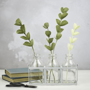Paper Eucalyptus Decorative Foliage - spring styling