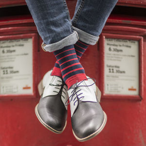 Stripe Fine Sock - new in fashion
