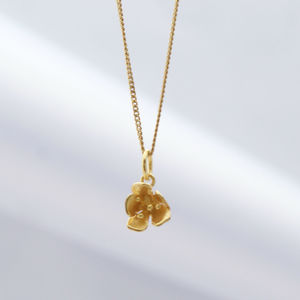 Blossom Gold Necklace - necklaces & pendants