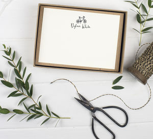 Personalised Name Cards - the lost art of letter writing
