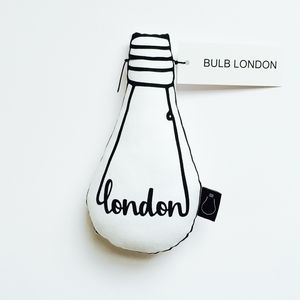 'London' Bulb Cushion