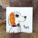 Pet Portrait Dog/Cat Ceramic Tile