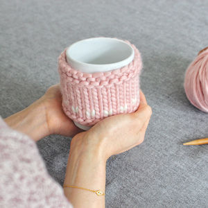 Ewe Are The Best Mug Cosy Knitting Kit And Mug - gifts from older children