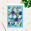 Congratulations Botanical Illustrated Card